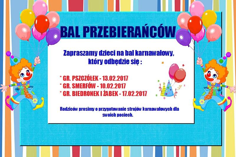 Bal Karnawałowyżłobek Miejski W Mikołowie